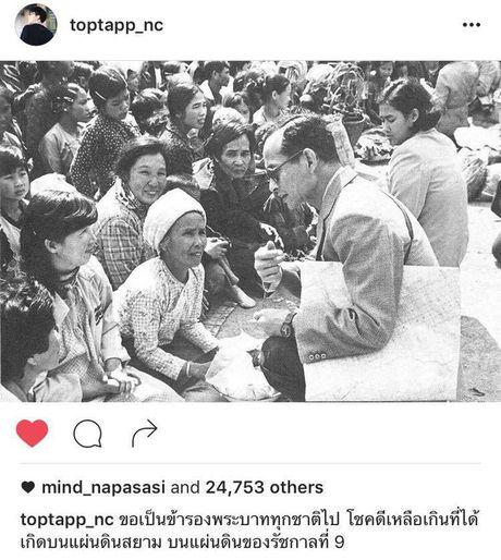 Sao Thai Lan dau buon, bay to thuong tiec truoc su ra di cua Quoc Vuong Bhumibol - Anh 7