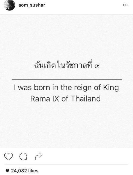 Sao Thai Lan dau buon, bay to thuong tiec truoc su ra di cua Quoc Vuong Bhumibol - Anh 8