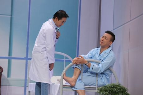 Truong Giang om chat Kim Tuyen trong game show - Anh 5