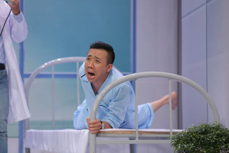 Truong Giang om chat Kim Tuyen trong game show - Anh 6