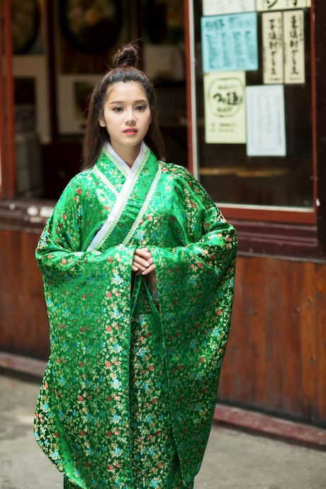 Hoang Yen Chibi diu dang trong trang phuc kimono - Anh 4