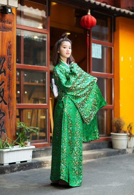 Hoang Yen Chibi diu dang trong trang phuc kimono - Anh 5