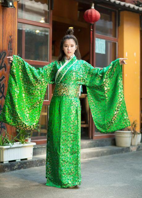 Hoang Yen Chibi diu dang trong trang phuc kimono - Anh 6