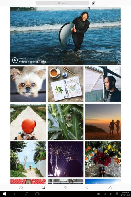 Instagram cuoi cung cung co ung dung rieng cho may tinh Windows - Anh 2