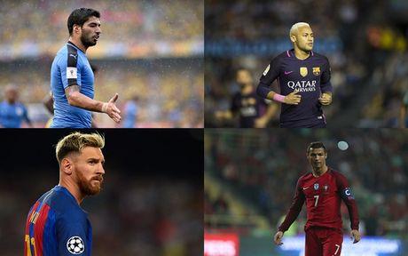 CR7 va Messi lot top 15 cau thu xuat sac nhat the gioi - Anh 1