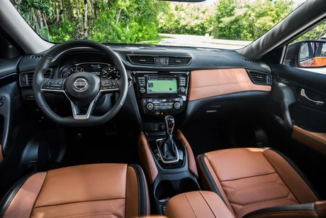 Nissan Rogue 2017, doi thu cua Honda CR-V va Mazda CX-5, duoc chot gia - Anh 4