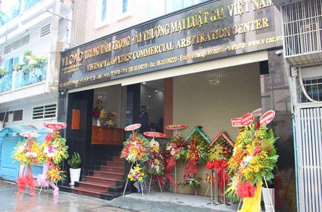 Ra mat Trung tam Trong tai thuong mai Luat gia Viet Nam - Anh 1