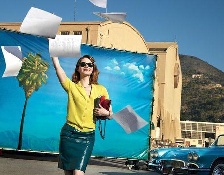 Emma Stone van van vuong voi tinh cu - Anh 1