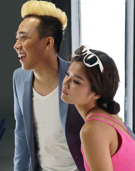Vang Hari Won, Tran Thanh tinh tu than mat ben Hoang Yen Chibi - Anh 3