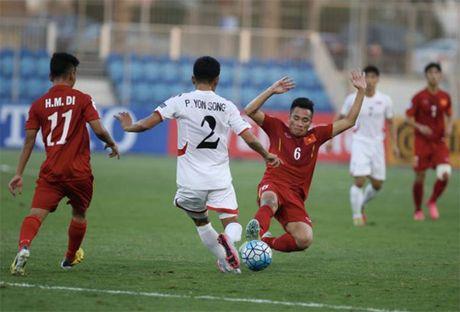 Viet Nam xuat sac ha A quan Trieu Tien tai U19 chau A - Anh 1