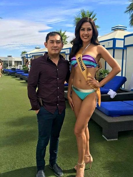 Man trinh dien bikini boc lua cua Nguyen Thi Loan tai Miss Grand International 2016 - Anh 2