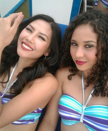 Man trinh dien bikini boc lua cua Nguyen Thi Loan tai Miss Grand International 2016 - Anh 4