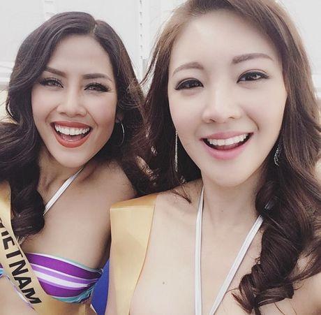 Man trinh dien bikini boc lua cua Nguyen Thi Loan tai Miss Grand International 2016 - Anh 5