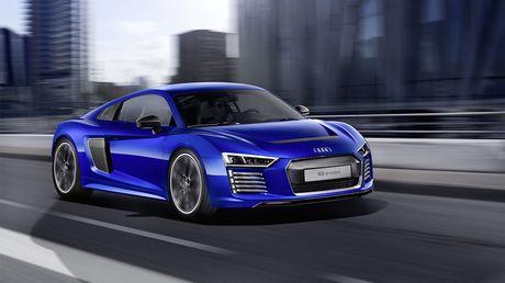 Audi chinh thuc khai tu mau xe dien R8 e-tron - Anh 1