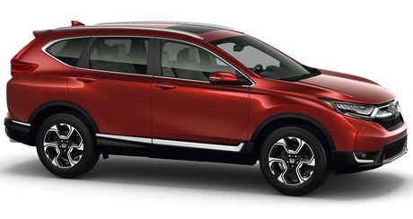 So sanh truc quan giua Honda CR-V 2017 va the he cu - Anh 3