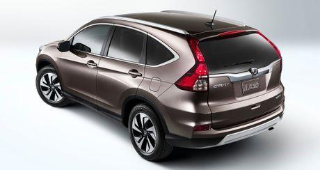 So sanh truc quan giua Honda CR-V 2017 va the he cu - Anh 6