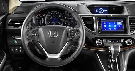 So sanh truc quan giua Honda CR-V 2017 va the he cu - Anh 8