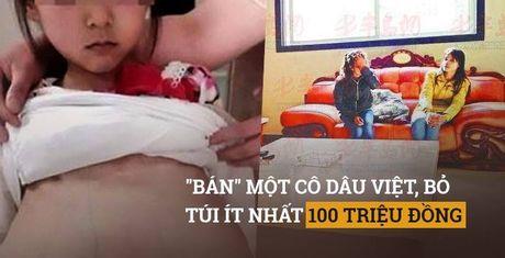 Bi ban sang TQ, co dau Viet quay lai buon nguoi Viet - Anh 1