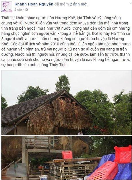 Cong dong mang nhoi long truoc canh ngap lut vung ron lu mien trung - Anh 5