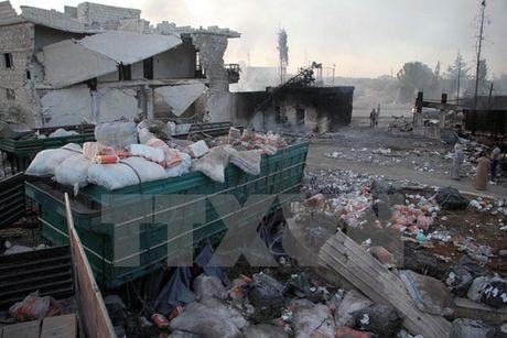Ban tin chieu: Ong Obama yeu cau som cham dut noi chien Syria - Anh 1