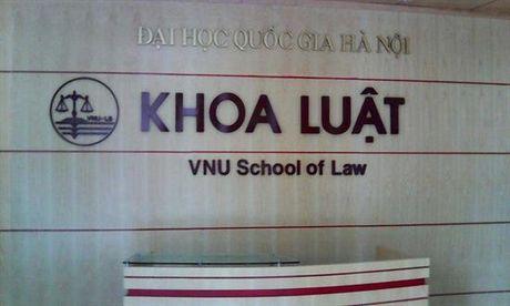 Nang cap khoa Luat thanh truong dai hoc truc thuoc DH Quoc Gia Ha Noi - Anh 1