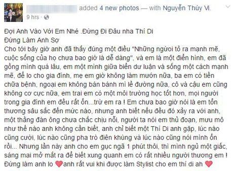 Cong dong mang xon xao vi Thuy Vi 'mat tich' tren Facebook - Anh 3