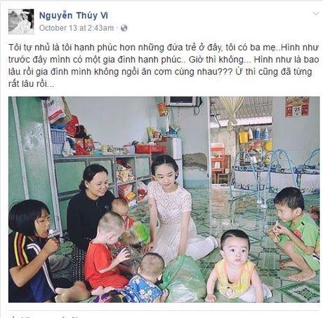 Cong dong mang xon xao vi Thuy Vi 'mat tich' tren Facebook - Anh 5