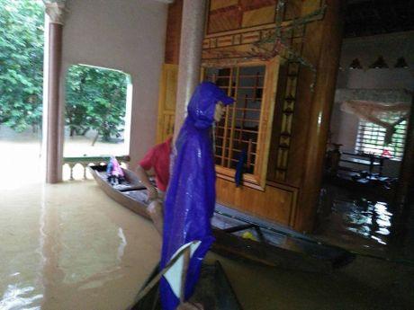 Huong Khe chim trong nuoc lu - Anh 6