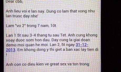 Cao Toan My to cao vu dan dung 'hop dong tinh ai' - Anh 2
