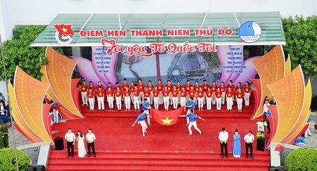Hon 3.000 ban tre Ha Noi doi mua xep hinh ban do Viet Nam - Anh 2