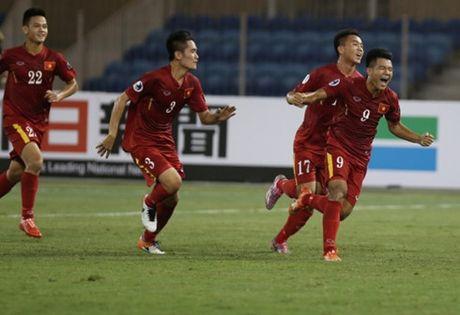 Du am tran U19 Viet Nam 2-1 U19 Trieu Tien: Dau xuoi, duoi co lot? - Anh 1