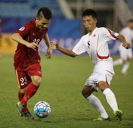 Chum anh: U19 Viet Nam 'tao dia chan' khi danh bai a quan giai chau A - Anh 6