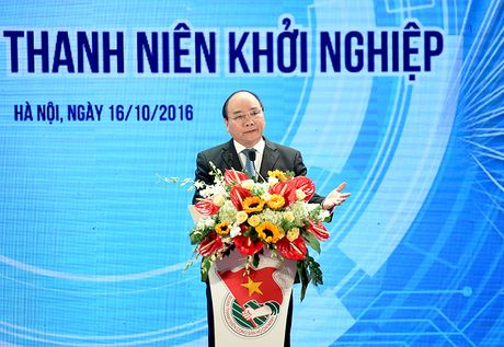 Thu tuong 'mo long' voi sinh vien ve khoi nghiep - Anh 1