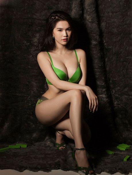 Sao Viet mac bikini khoe dang chuan, ai doat ngoi 'nong bong nhat'? - Anh 6