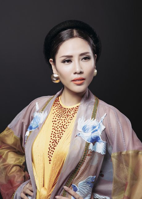 Ngam trang phuc dan toc cua Nguyen Loan tai Miss Grand International - Anh 3