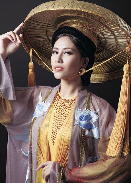 Ngam trang phuc dan toc cua Nguyen Loan tai Miss Grand International - Anh 6