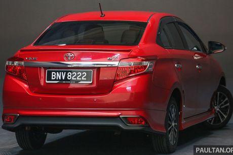 Toyota Vios moi 'chot gia' tu 414 trieu tai Malaysia - Anh 2