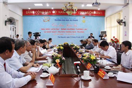 Truong DH Su pham - DH Thai Nguyen toa dam ve Bai hoc lich su - dinh huong tuong lai - Anh 1