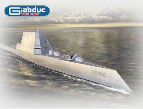 Inforgraphic: USS Zumwalt - Chien binh bao ve tu do hang hai - Anh 1