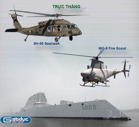Inforgraphic: USS Zumwalt - Chien binh bao ve tu do hang hai - Anh 4