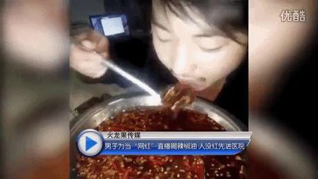 Nhap vien 3 tuan vi livestream canh uong dau ot sieu cay de noi tieng - Anh 1
