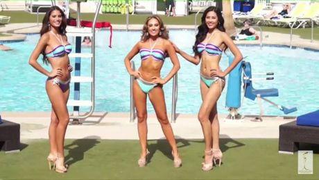 Nguyen Thi Loan trinh dien bikini nong bong tai Miss Grand Internation - Anh 2
