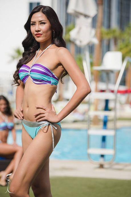 Nguyen Thi Loan trinh dien bikini nong bong tai Miss Grand Internation - Anh 4