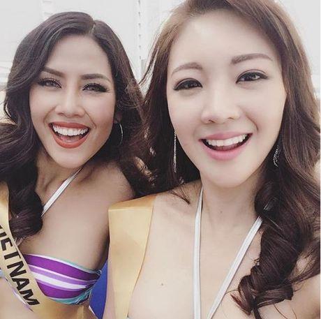 Nguyen Thi Loan trinh dien bikini nong bong tai Miss Grand Internation - Anh 6