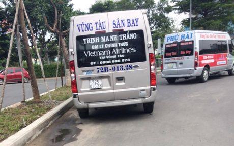 "Nhuc nhoi xe ""du"" san bay ""lon thuoc"" hoat dong ram ro - Anh 3"