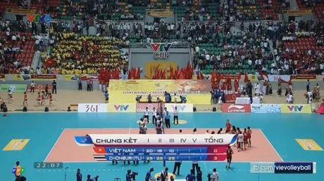 Giai bong chuyen nu Quoc te VTV Cup: Chonburi Thai Lan gianh chuc vo dich - Anh 4