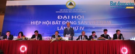 Nguyen Thu truong Bo Xay dung Nguyen Tran Nam tai dac cu Chu tich Hiep hoi BDS Viet Nam - Anh 1