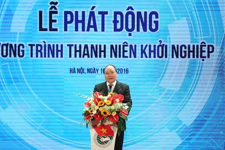 Thu tuong Nguyen Xuan Phuc: 'Thanh nien khoi nghiep neu that bai cung dung nan chi' - Anh 2