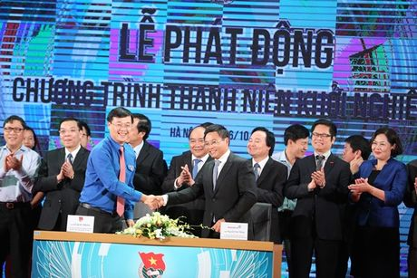 Thu tuong Nguyen Xuan Phuc: 'Thanh nien khoi nghiep neu that bai cung dung nan chi' - Anh 4