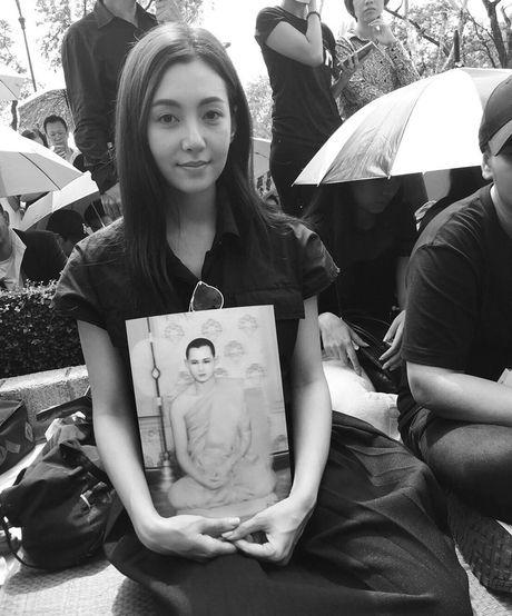 Loat than tuong Kpop, sao Thai den Dai su quan va Cung dien de vinh biet Quoc vuong Bhumibol - Anh 13
